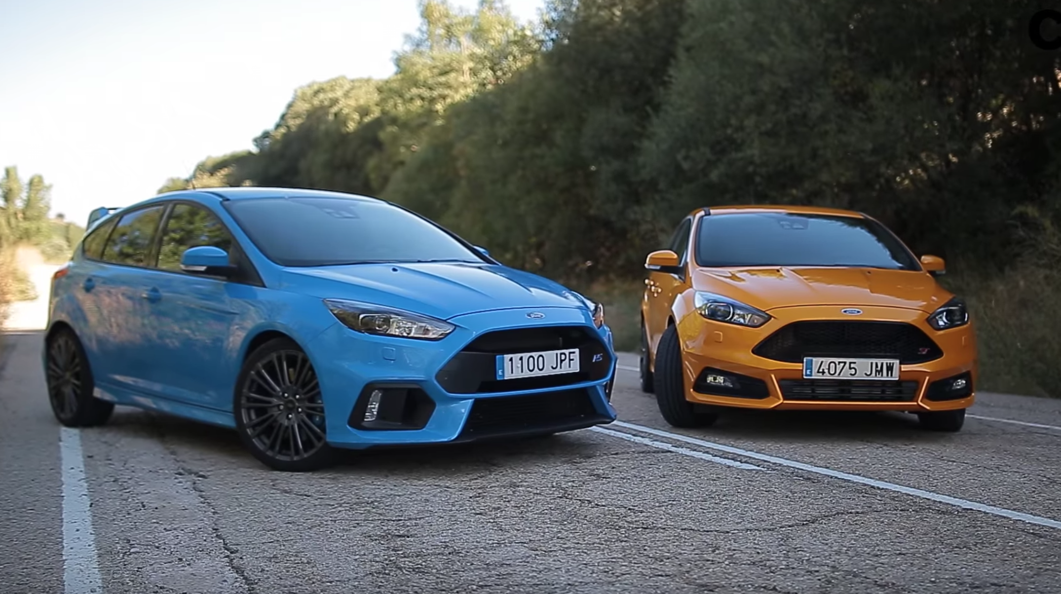 FORD FOCUS RS VS ST 2016